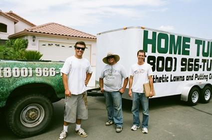 Photo of the Home Turf Crew