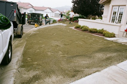 graded decomposed granite