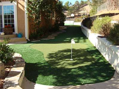 artificial putting green san diego